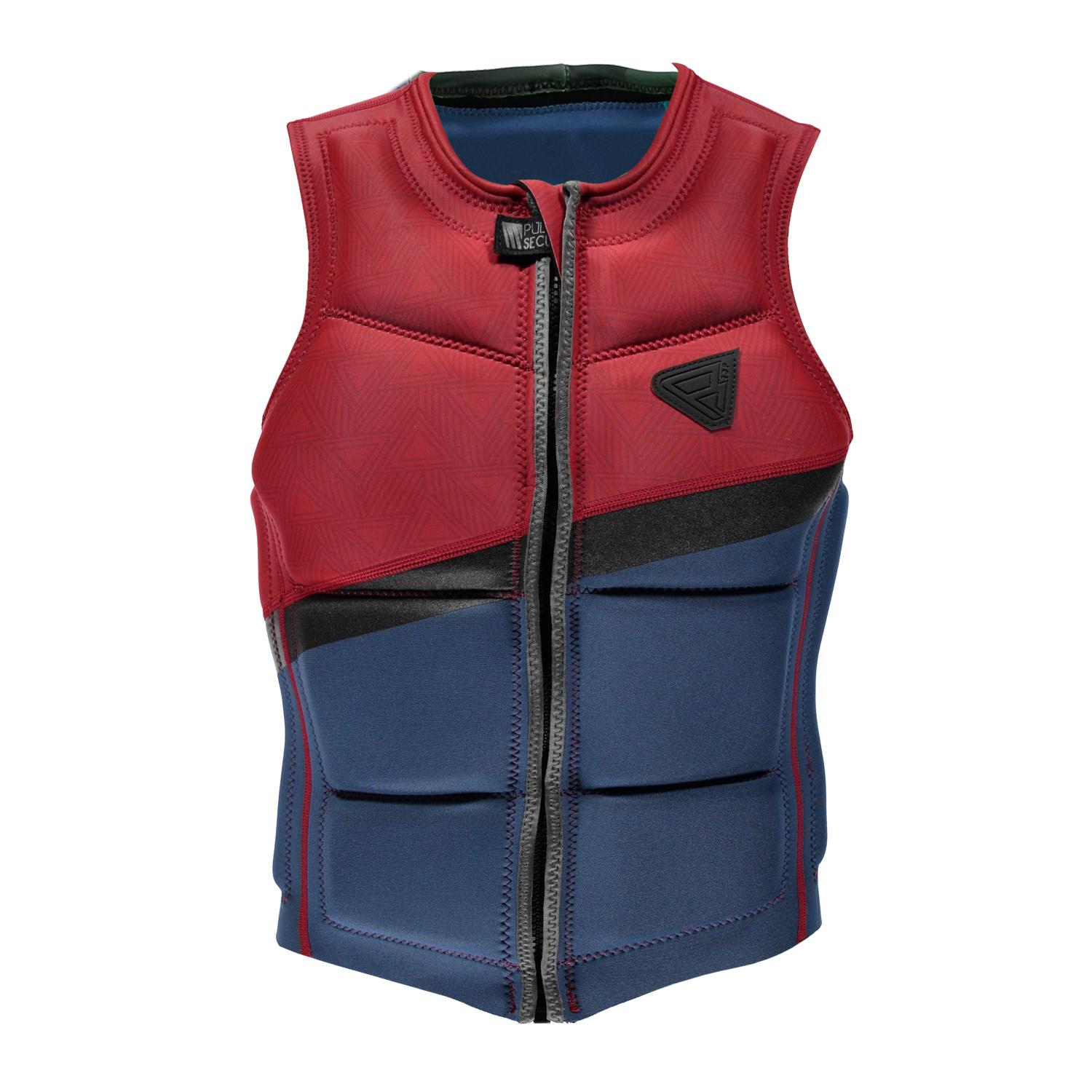 INDIAN WAKE VEST FZ MEN VEST BLUE BRUNOTTI 2018