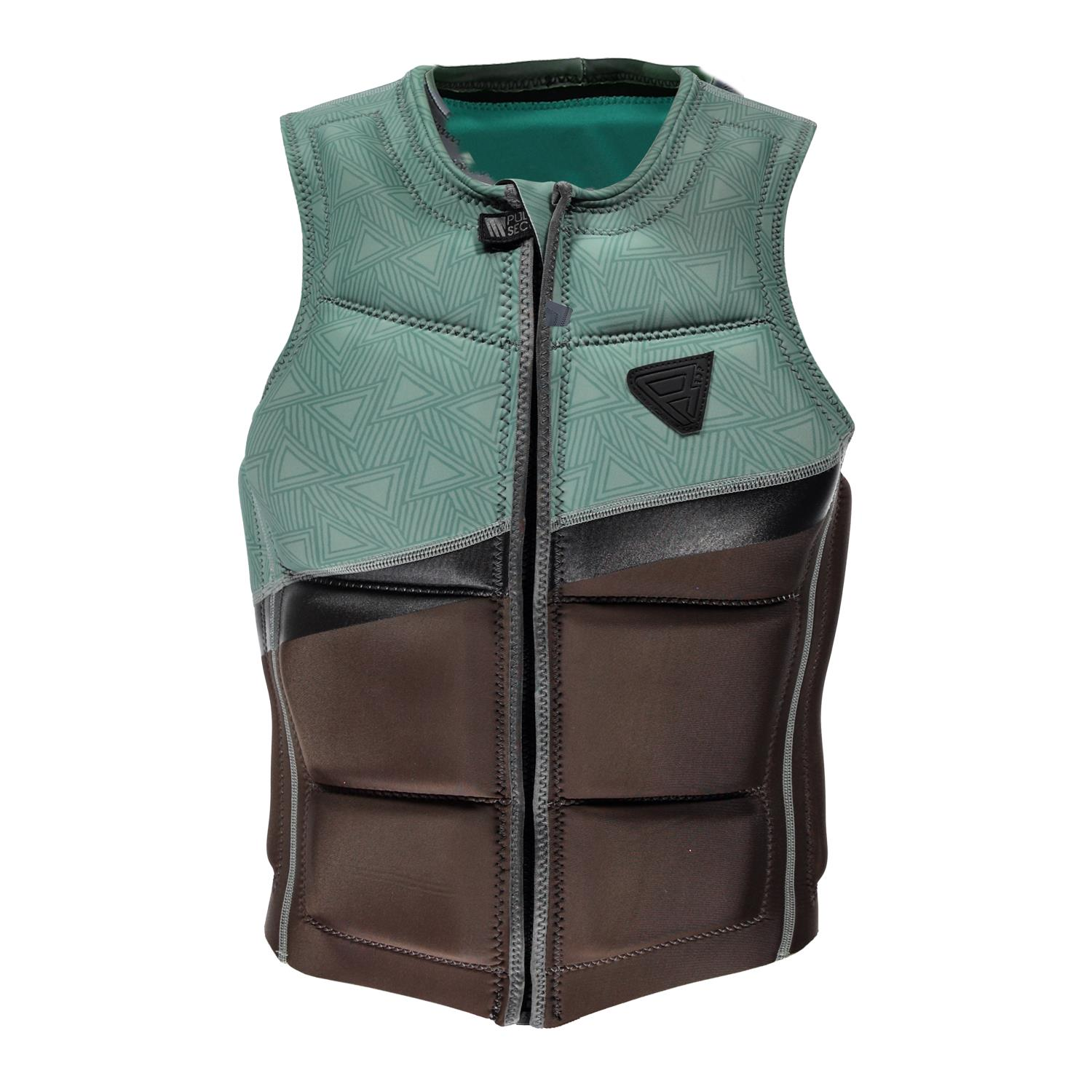 INDIAN WAKE VEST FZ MEN VEST BROWN BRUNOTTI 2018