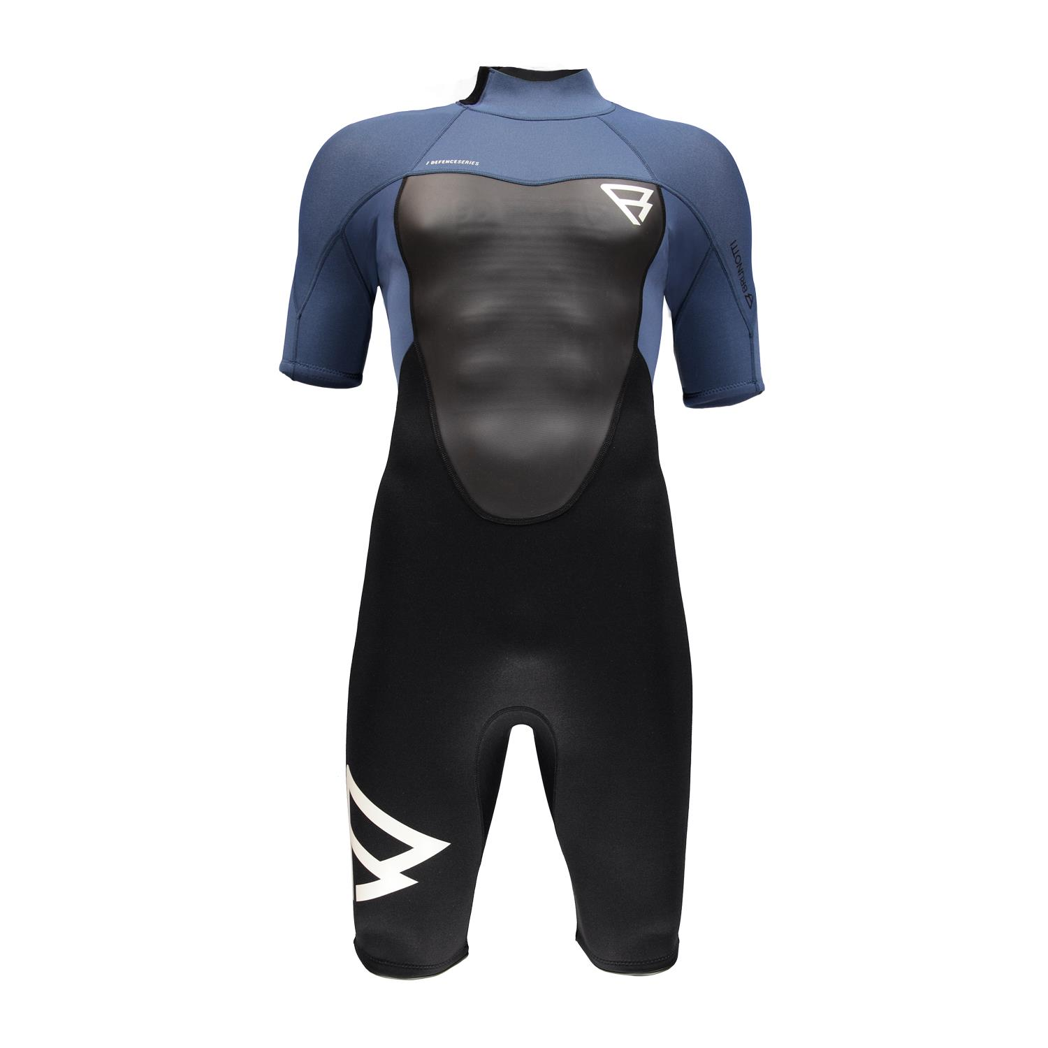 DEFENCE SHORTY 3/2 MEN WETSUIT BLUE BRUNOTTI 2018