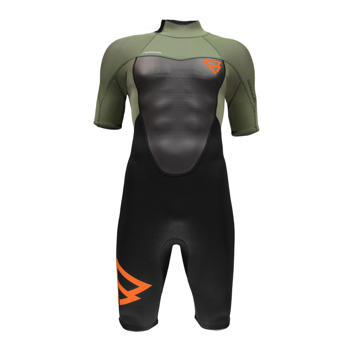 DEFENCE SHORTY 3/2 MEN WETSUIT DARK FOREST BRUNOTTI 2018
