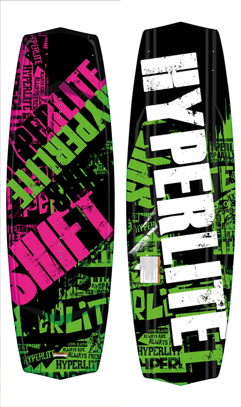 SHIFT 136 WAKEBOARD - NO M6 HYPERLITE 2018