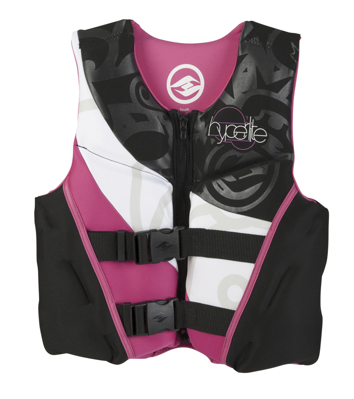 GIRLZ YOUTH INDY NEO CE VEST-PINK HYPERLITE 2015