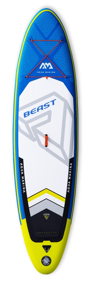 BEAST ADVANCED ALL-AROUND ISUP PADDLE BOARD (ISUP PADDLE INCLUDED) AQUA MARINA 2019