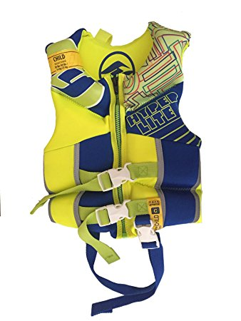 BOYZ CHILD INDY VEST BLUE/YELLOW HYPERLITE 2018