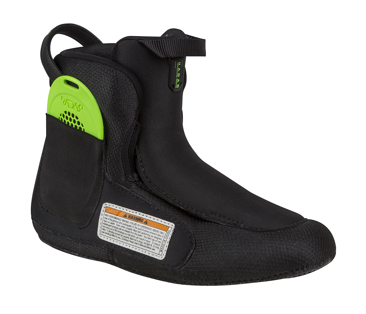 VAPOR BOOT LINER W/INSOLE - RIGHT RADAR 2017