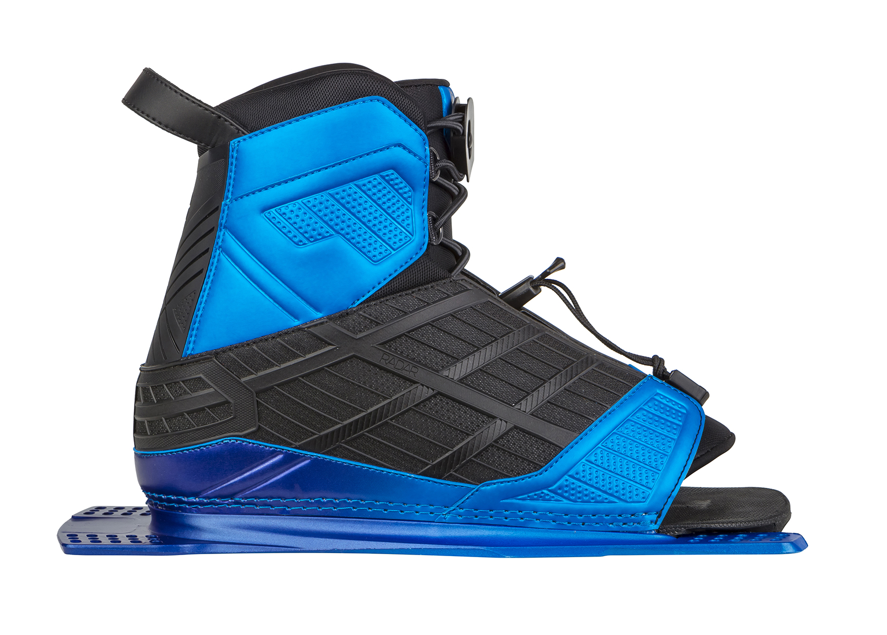 VECTOR BOOT W/REAR FEATHER FRAME - BLUE RADAR 2017
