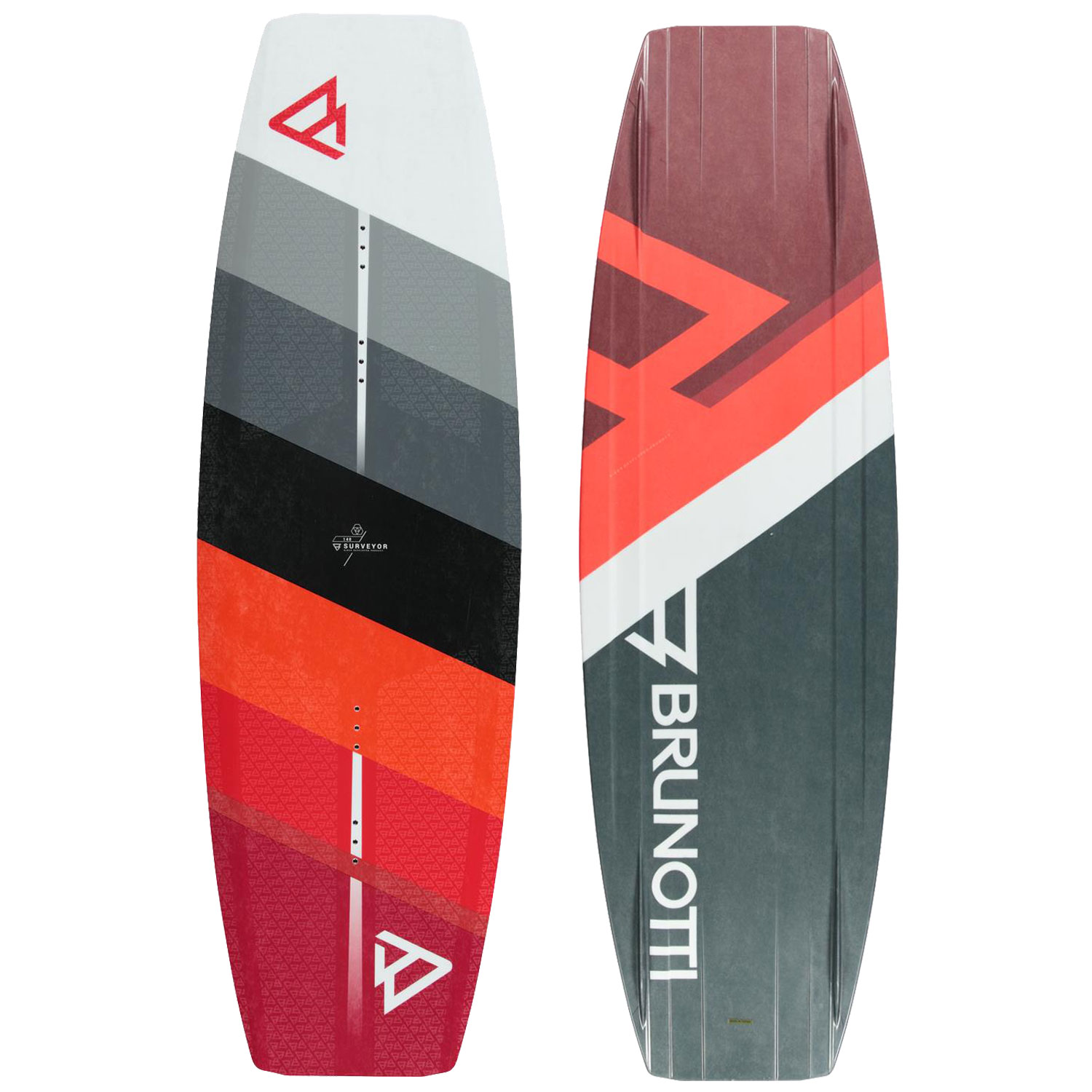 PLACA WAKEBOARD SURVEYOR  WAKEBOARD RED BRUNOTTI 2018