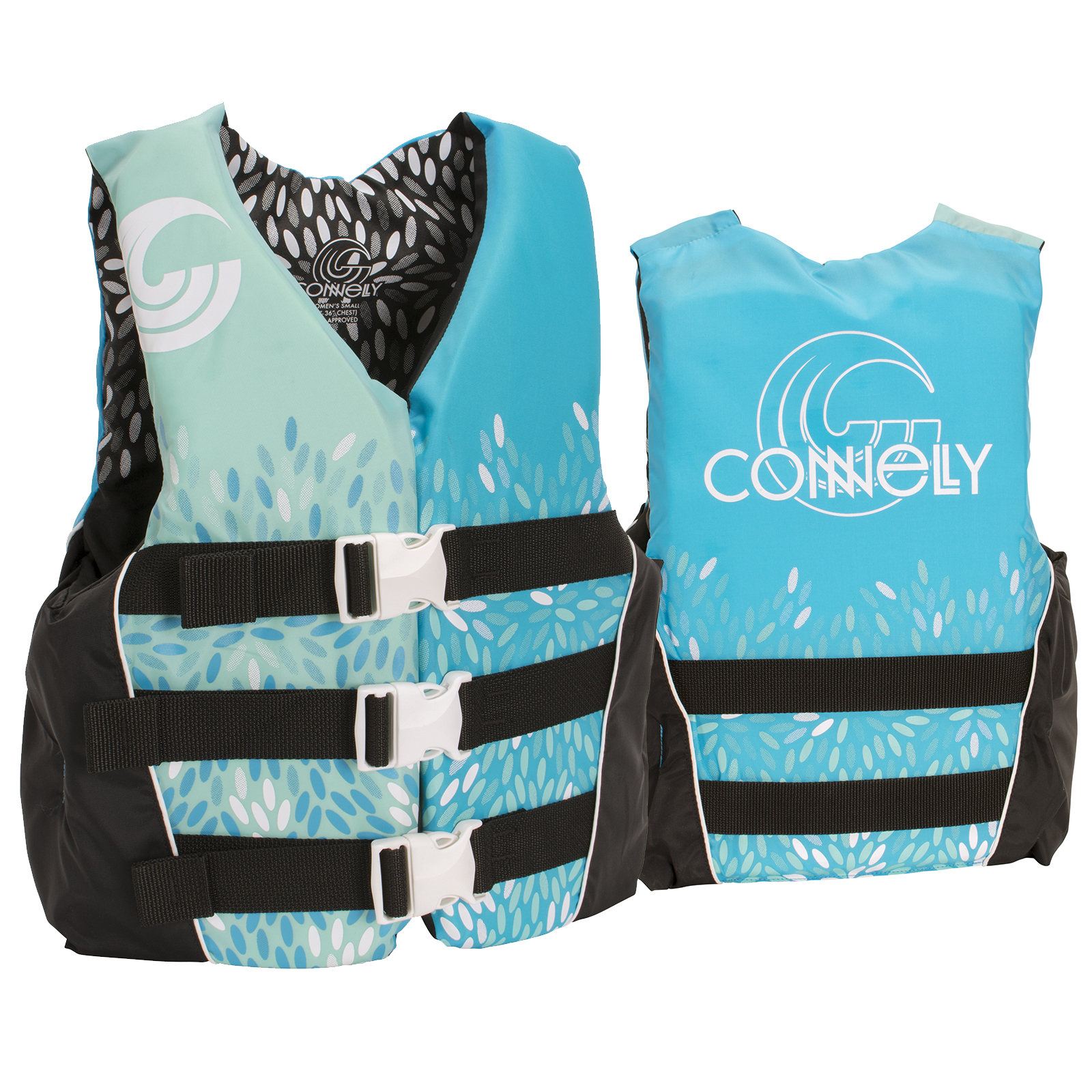 3-BELT NYLON WOMEN'S LIFE VEST CONNELLY 2018