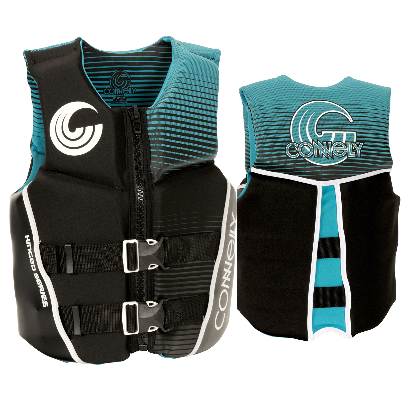 GIRL'S CLASSIC NEO LIFE VEST - TEEN 35-55KG CONNELLY 2018