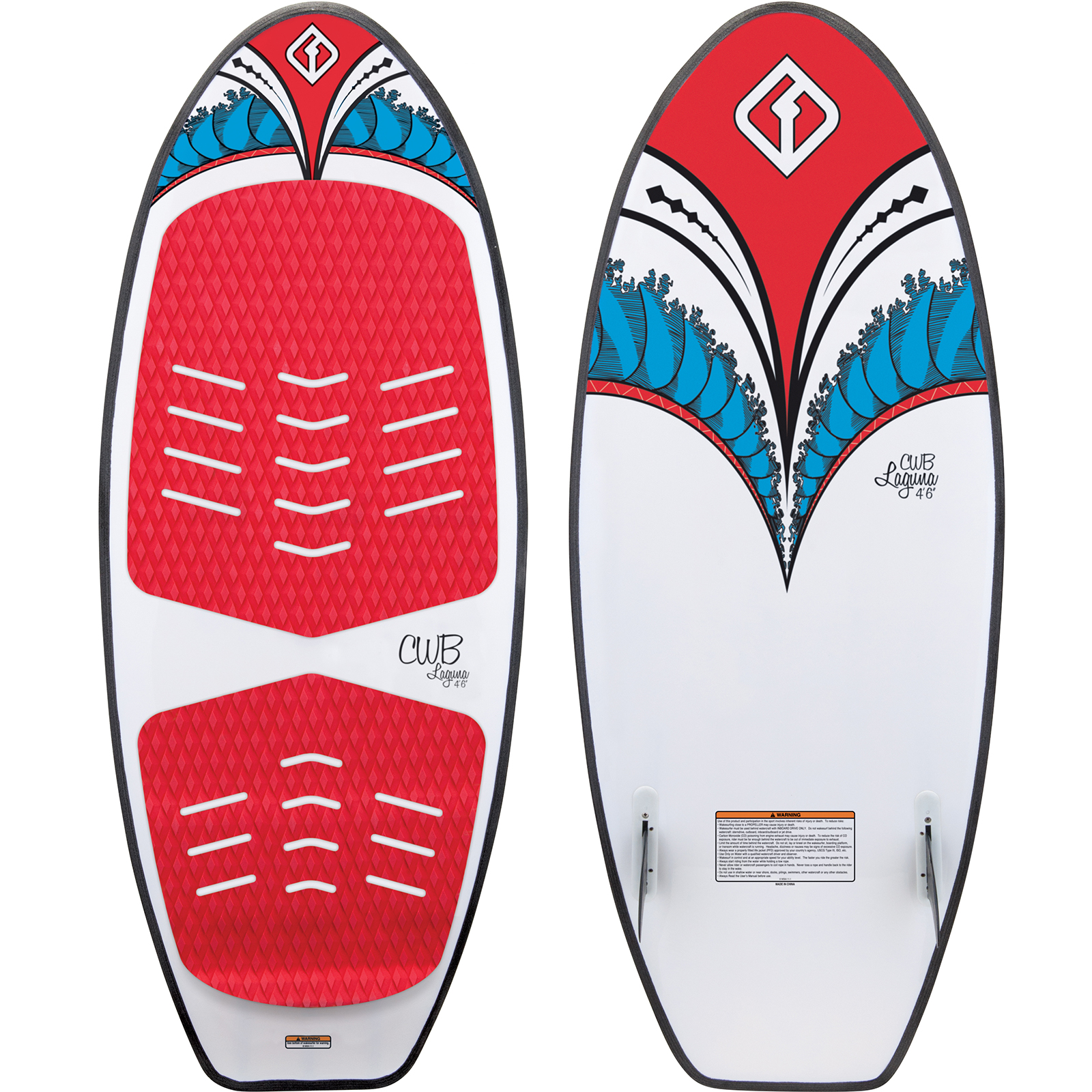 LAGUNA 4.6 WAKESURFER W/ROPE PACKAGE CONNELLY 2018