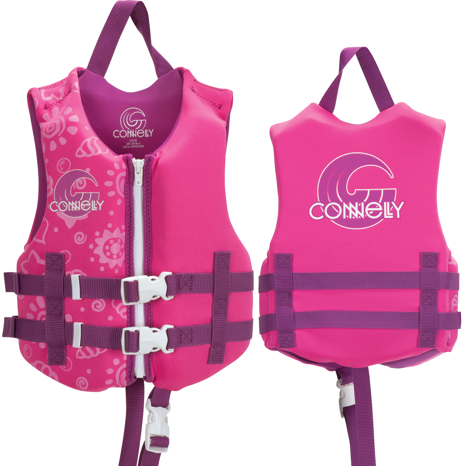 GIRL'S PROMO NEO LIFE VEST - CHILD 13-23KG CONNELLY 2019