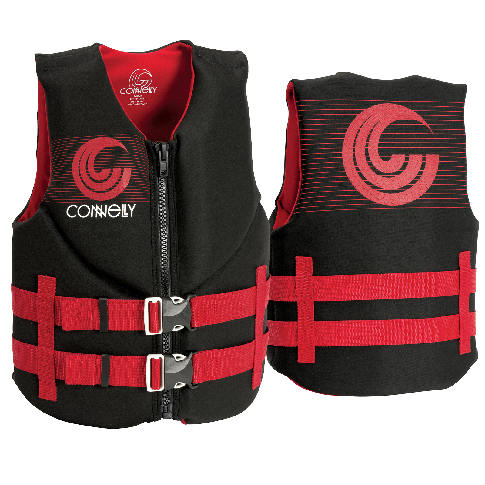 BOY'S PROMO NEO LIFE VEST - JUNIOR 35-55KG CONNELLY 2018