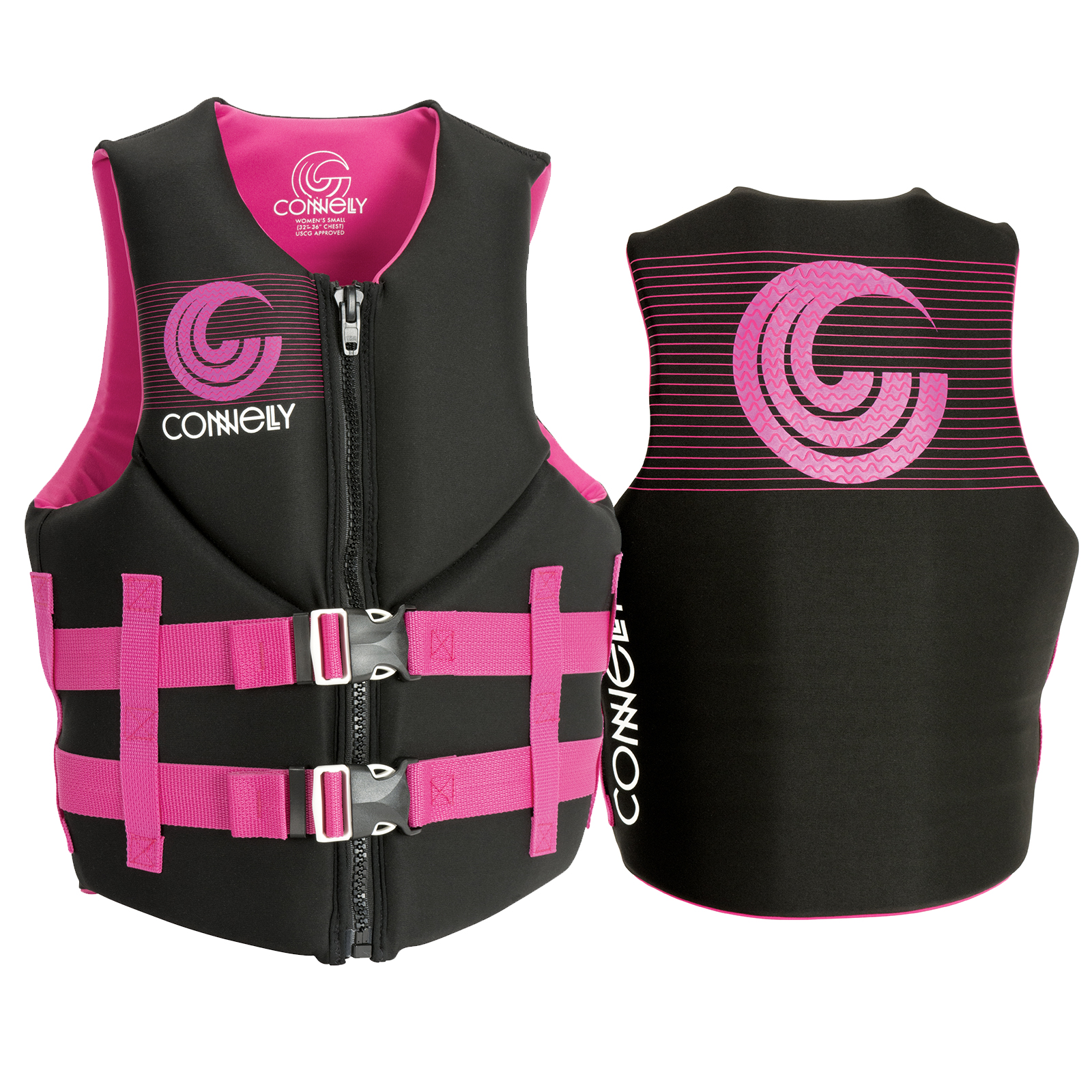 PROMO WOMEN'S NEO LIFE VEST - PINK CONNELLY 2018