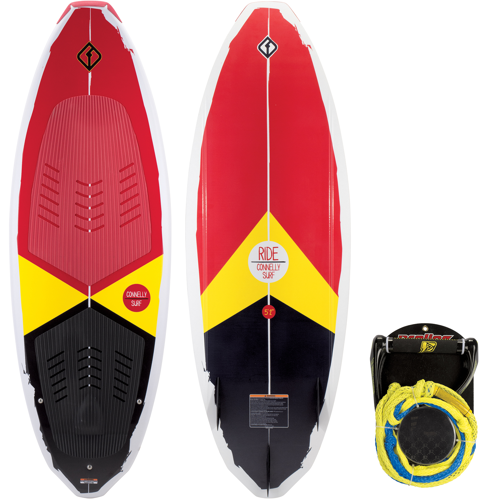RIDE 5.2 WAKESURFER W/ROPE PACKAGE CONNELLY 2018