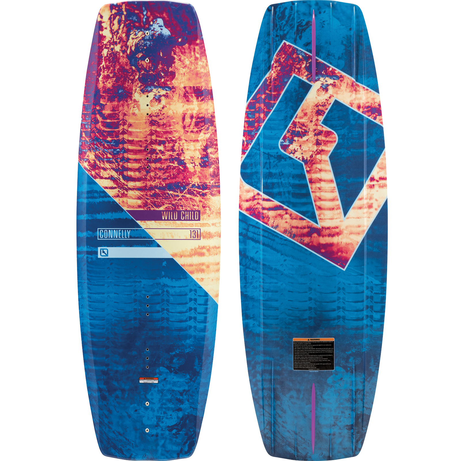 WILDCHILD 131 JR. WAKEBOARD CONNELLY 2018