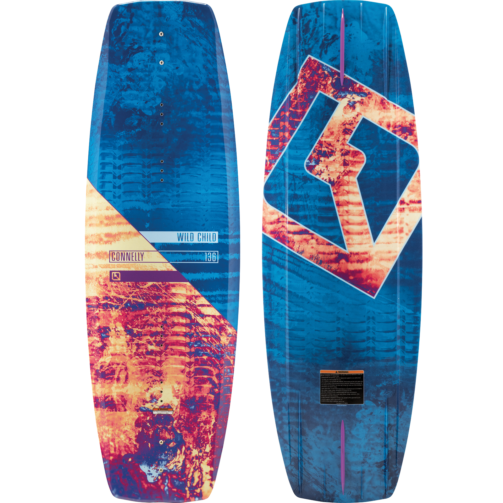 WILDCHILD 136 WAKEBOARD CONNELLY 2018