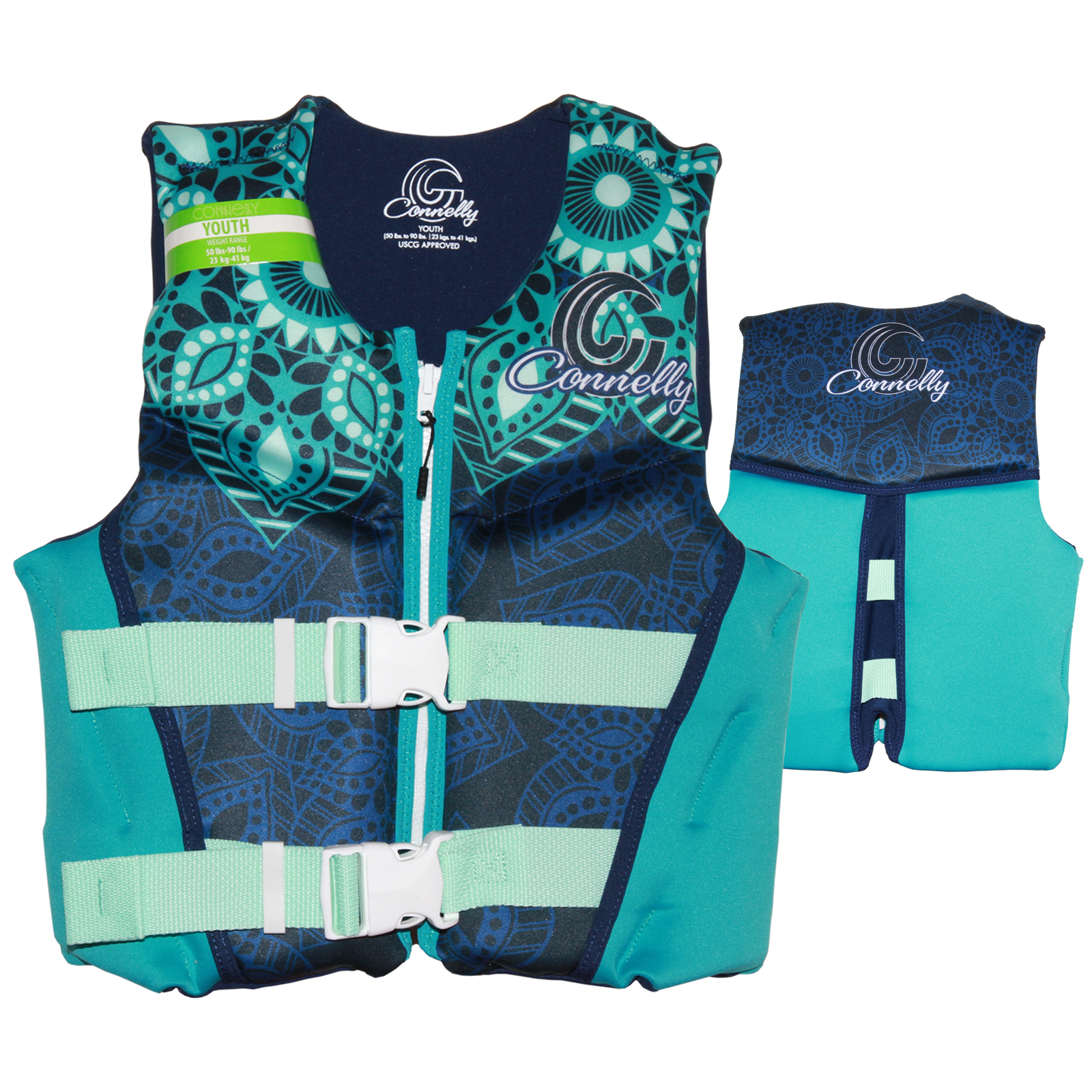 GIRLS YOUTH NEO VEST 22-40KG CONNELLY 2018