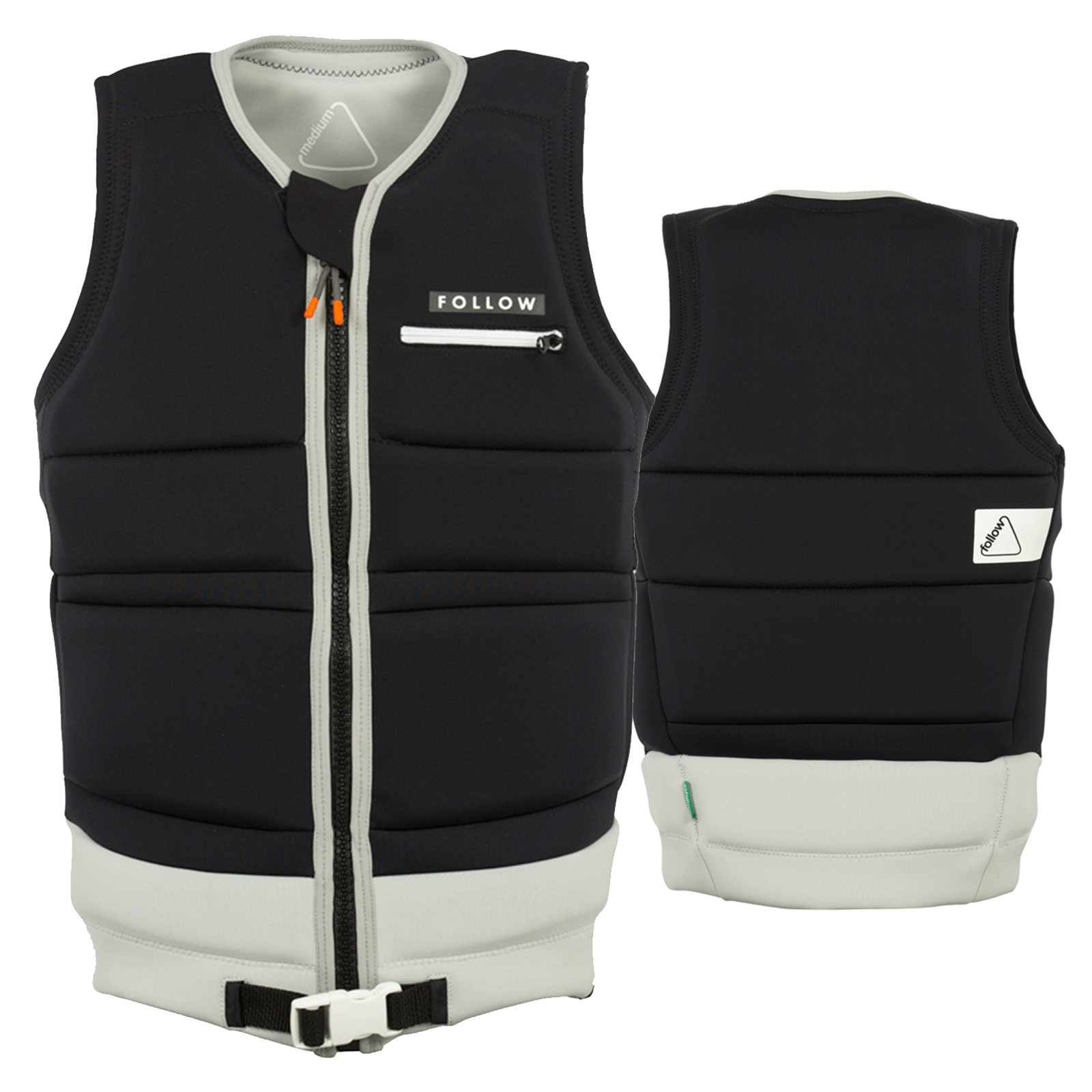 CINCH MASSI IMPACT VEST BLACK FOLLOW 2018