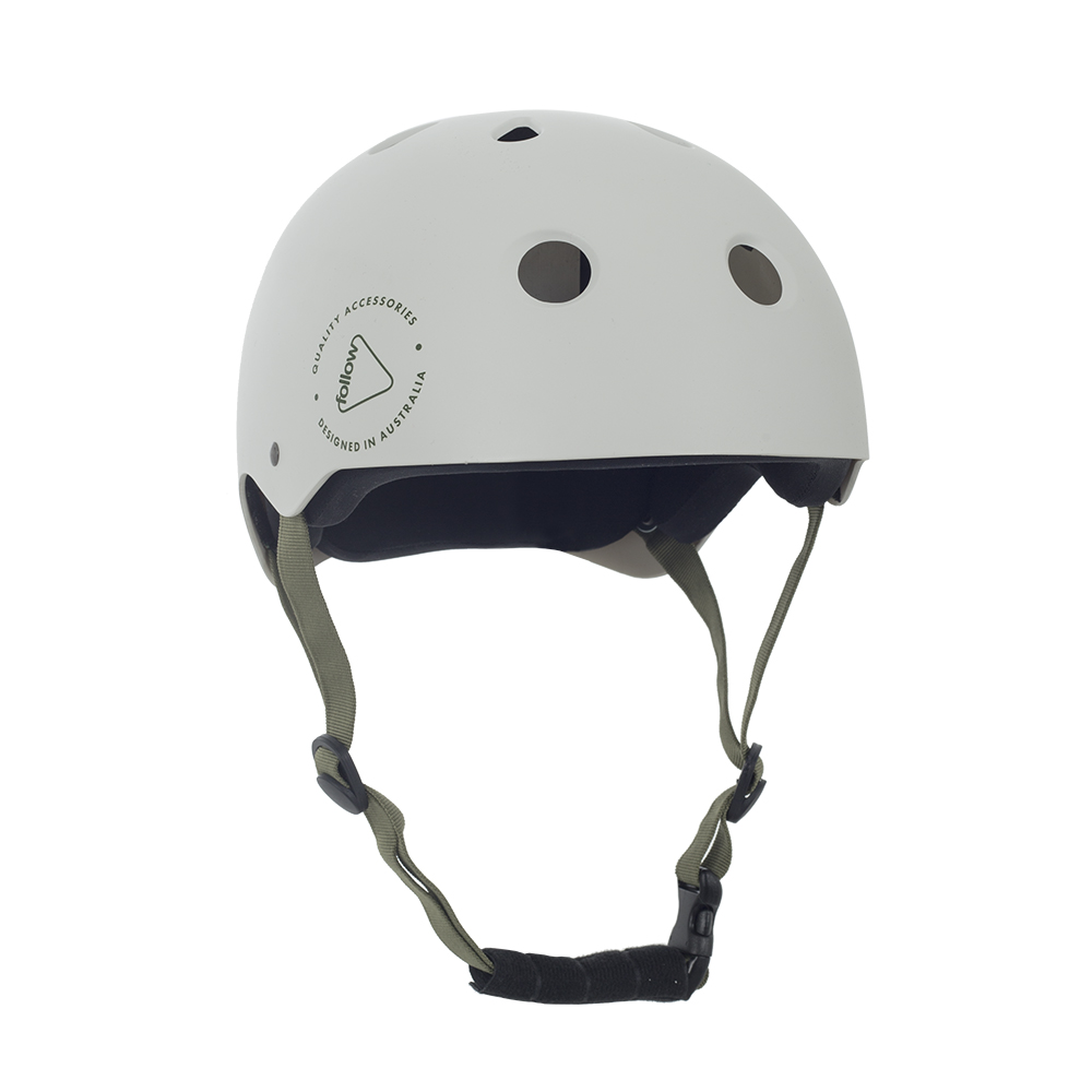 SAFETY FIRST HELMET - WHITE FOLLOW 2019