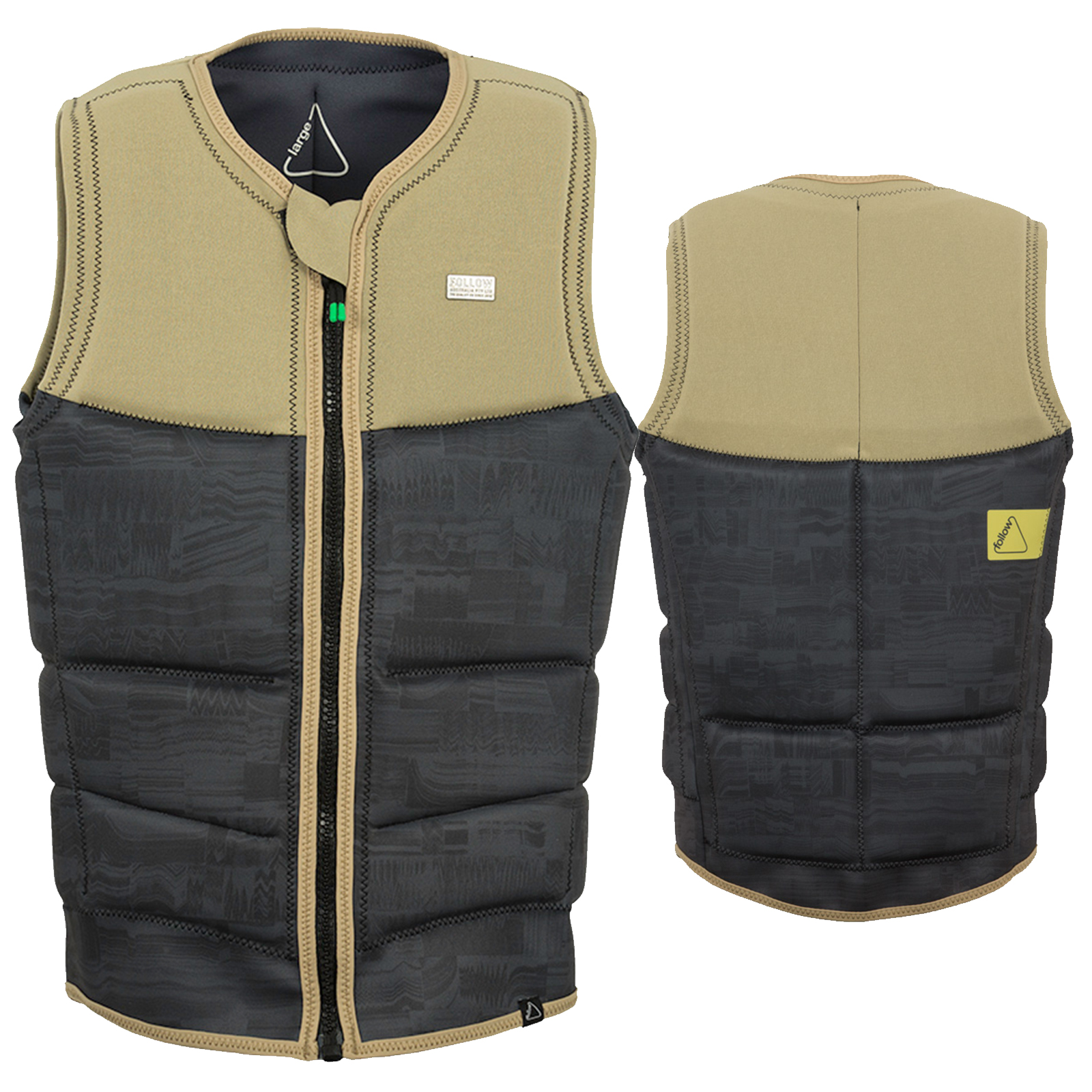 STOW COOK CE IMPACT VEST BLACK FOLLOW 2018