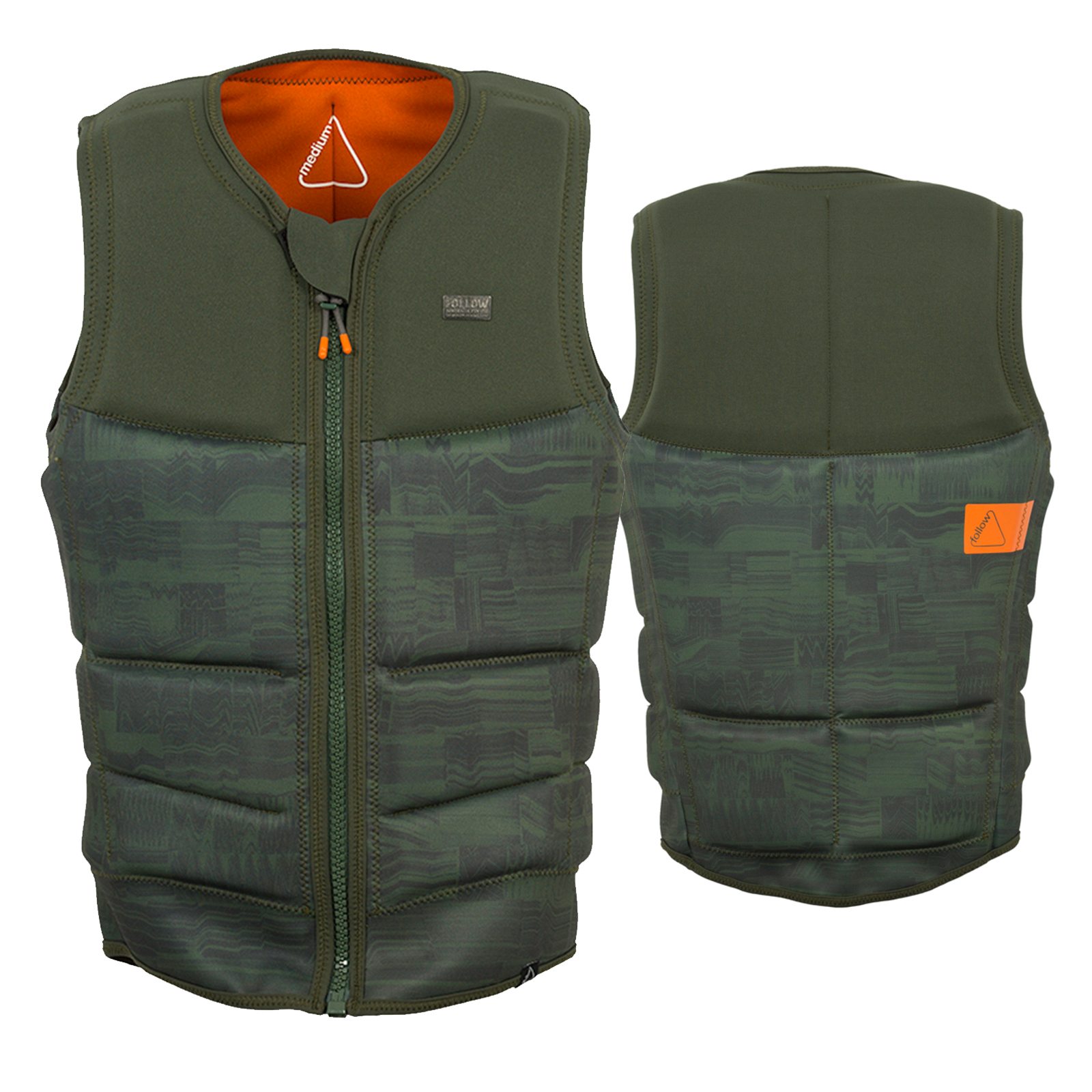 STOW COOK CE IMPACT VEST OLIVE FOLLOW 2018