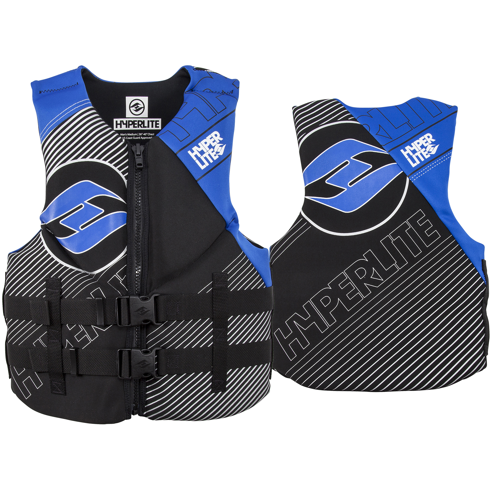 MEN'S INDY NEO VEST - BLUE HYPERLITE 2018