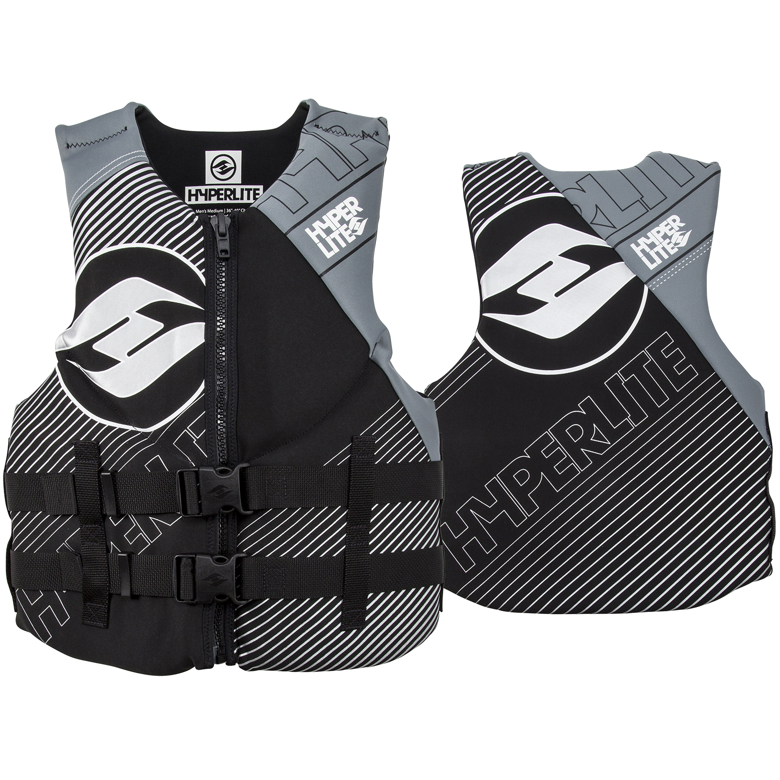MEN'S INDY NEO VEST - GREY HYPERLITE 2018