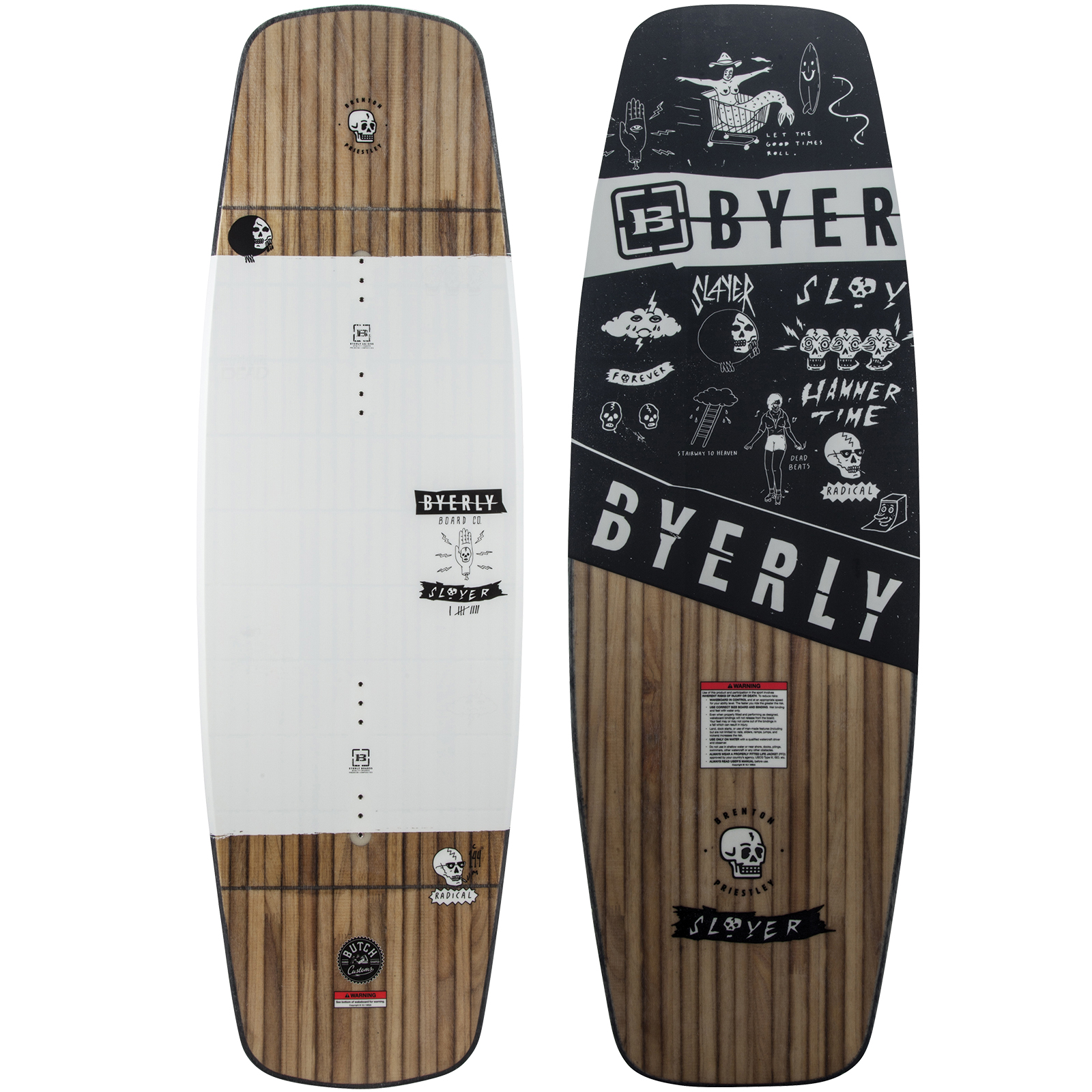 SLAYER WAKEBOARD BYERLY 2018