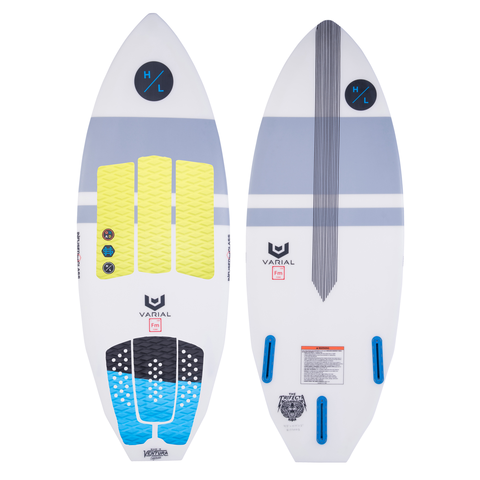 TRIFECTA WAKESURFER PACKAGE HYPERLITE 2018
