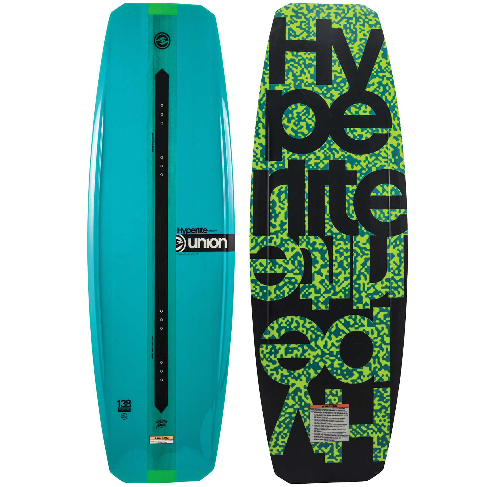 UNION 138 WAKEBOARD HYPERLITE 2018