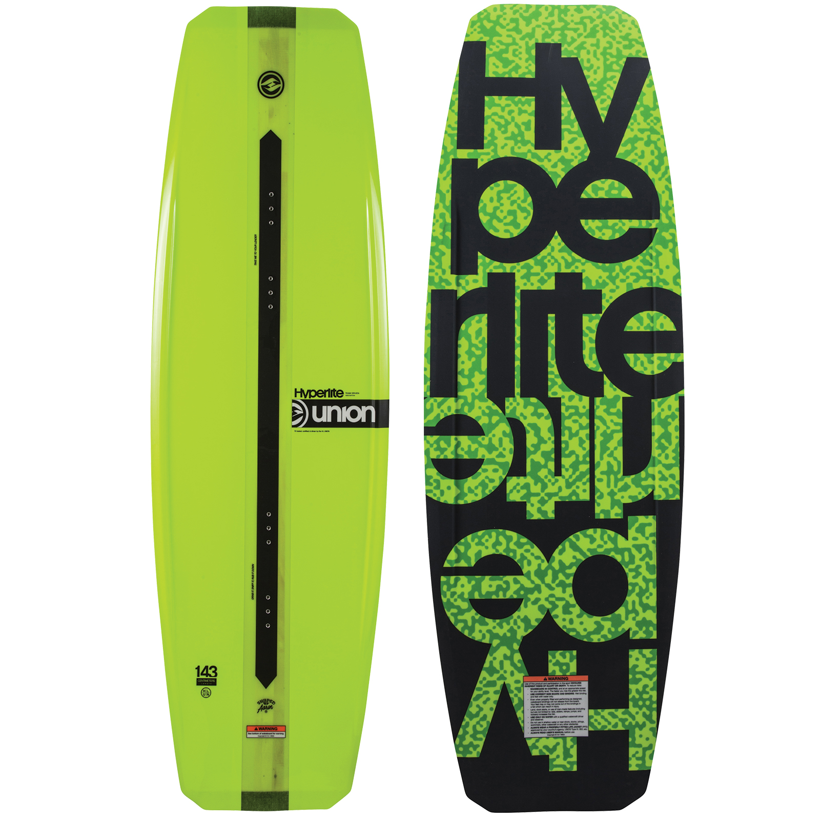 UNION 143 WAKEBOARD HYPERLITE 2018