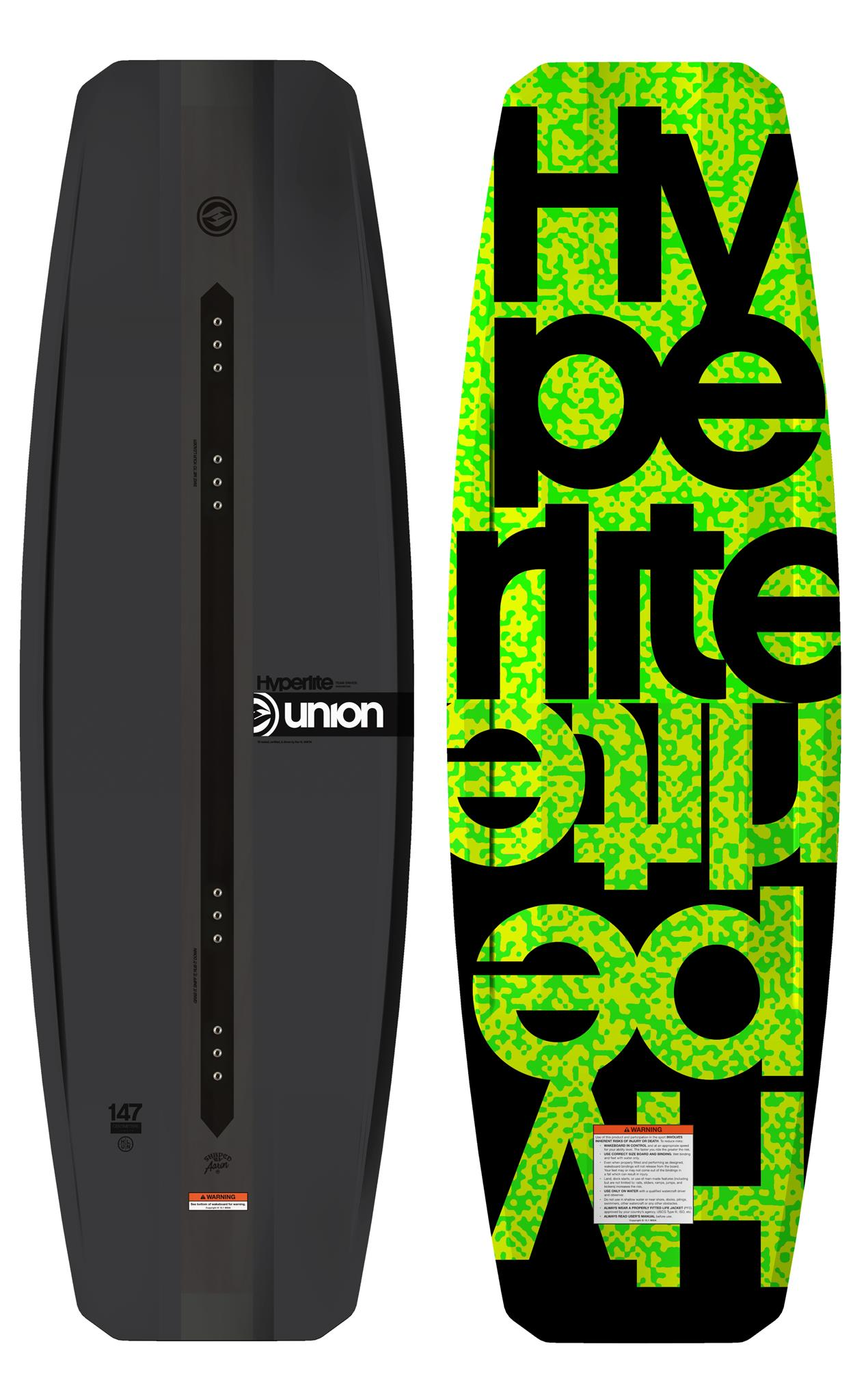 UNION 147 WAKEBOARD HYPERLITE 2018