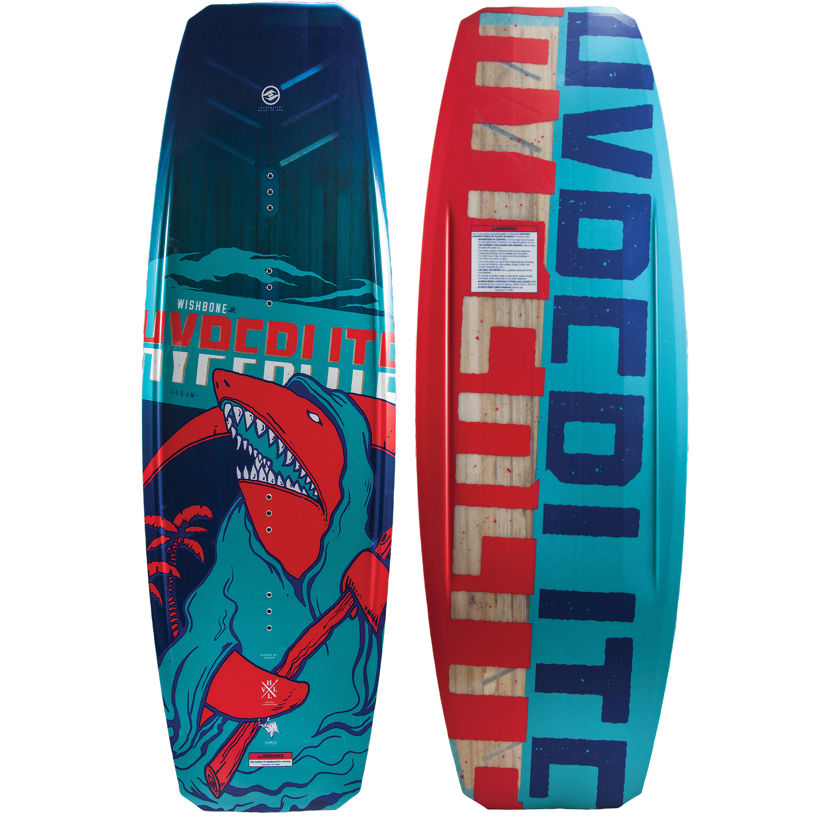 WISHBONE 125 JR. WAKEBOARD HYPERLITE 2018