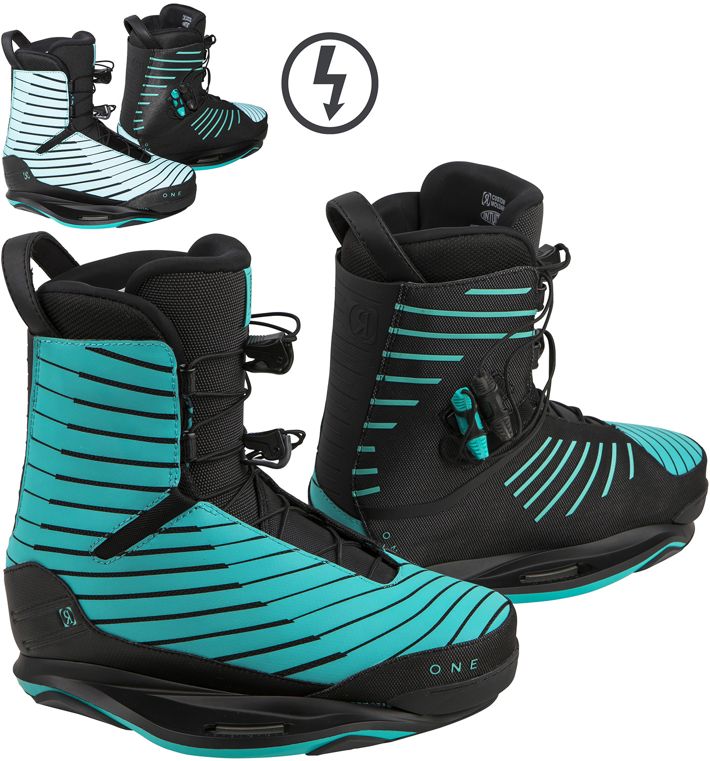 ONE FLASH MINT BOOT RONIX 2018