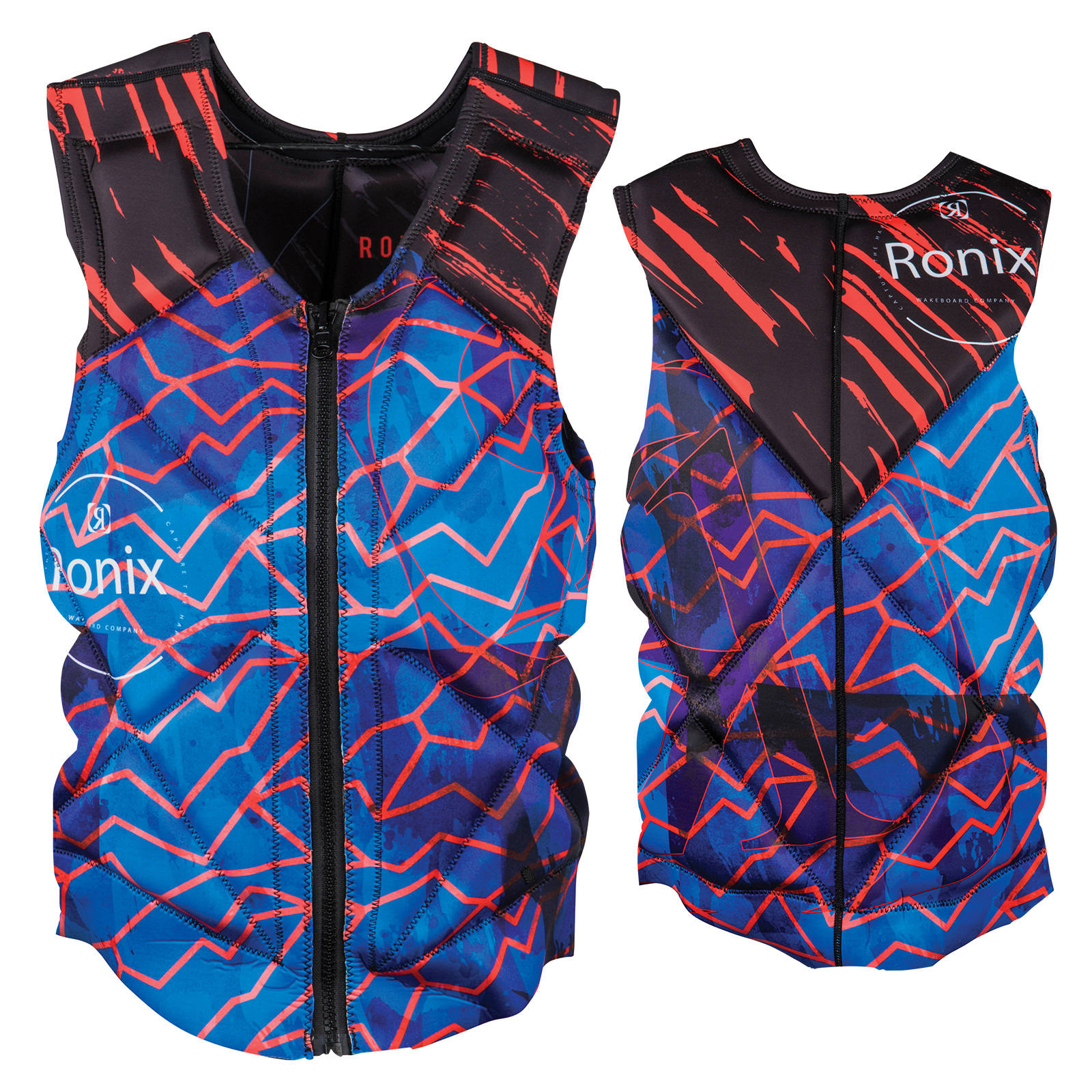 PARTY ATHLETIC CUT REVERSIBLE VEST RONIX 2018
