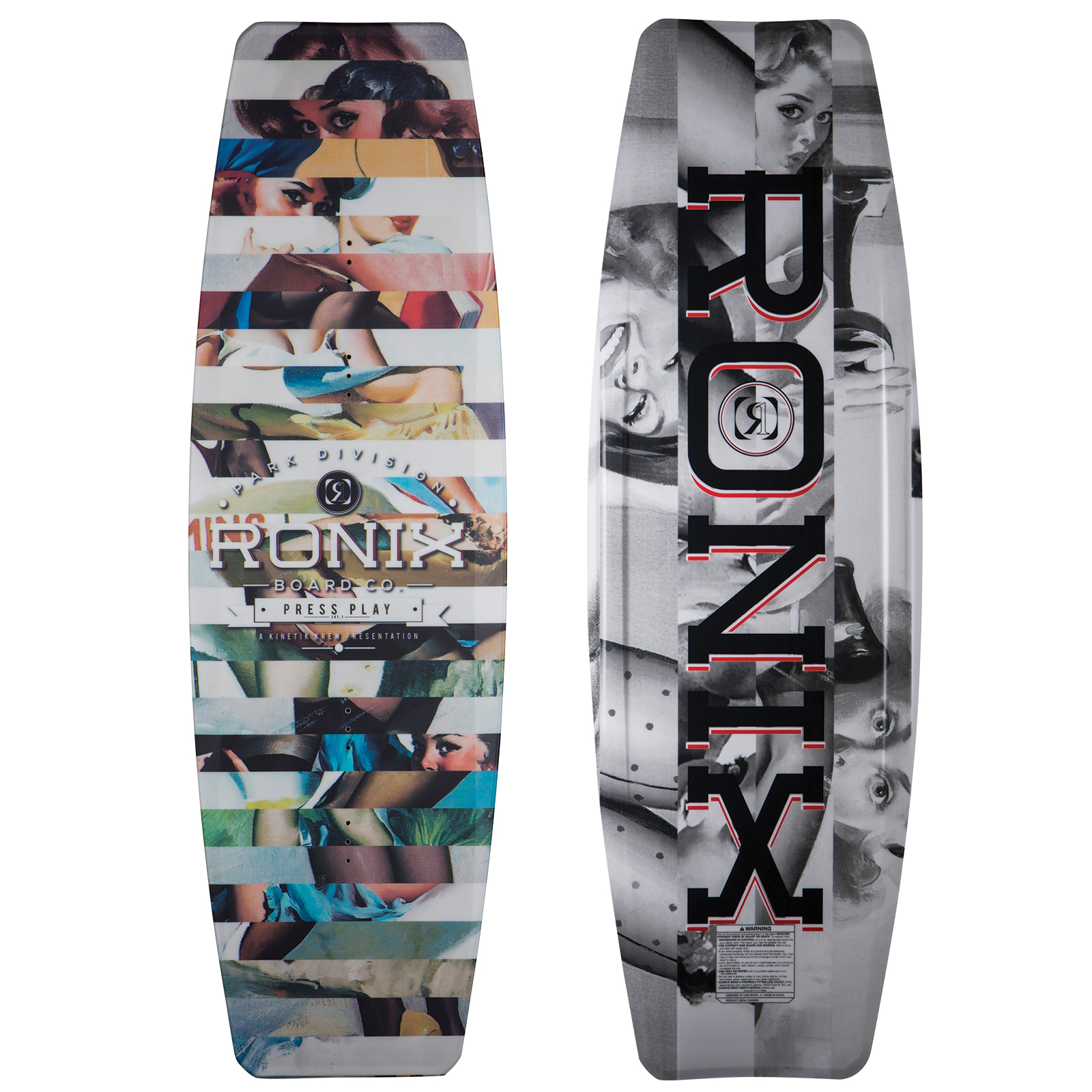 PRESS PLAY ATR EDITION WAKEBOARD RONIX 2018