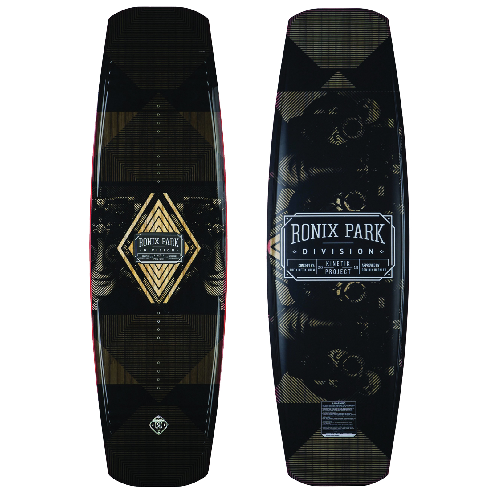 KINETIK PROJECT SPRINGBOX 2 144 WAKEBOARD - DEMO RONIX 2018