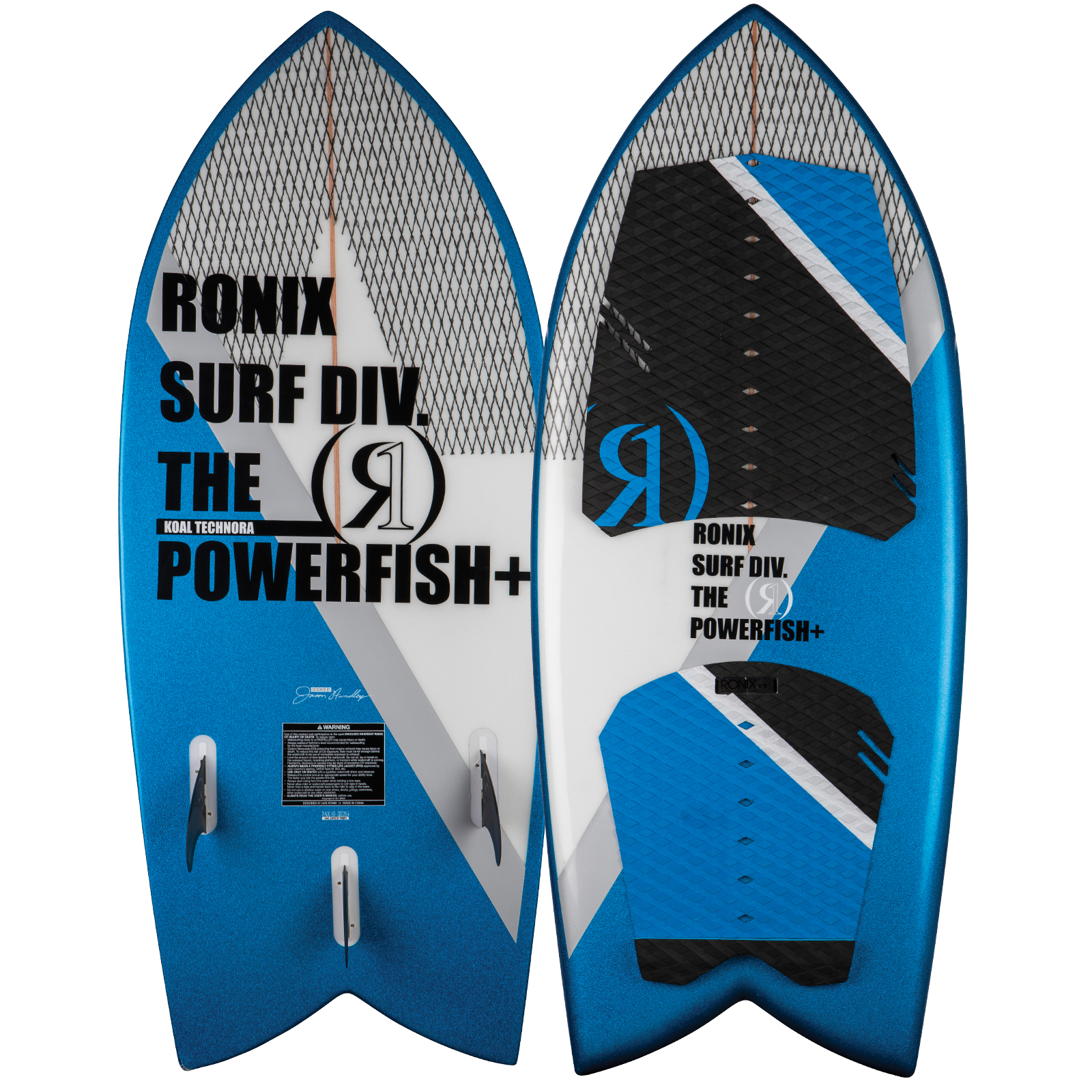 POWERFISH+ TECHNORA WAKESURFER RONIX 2018