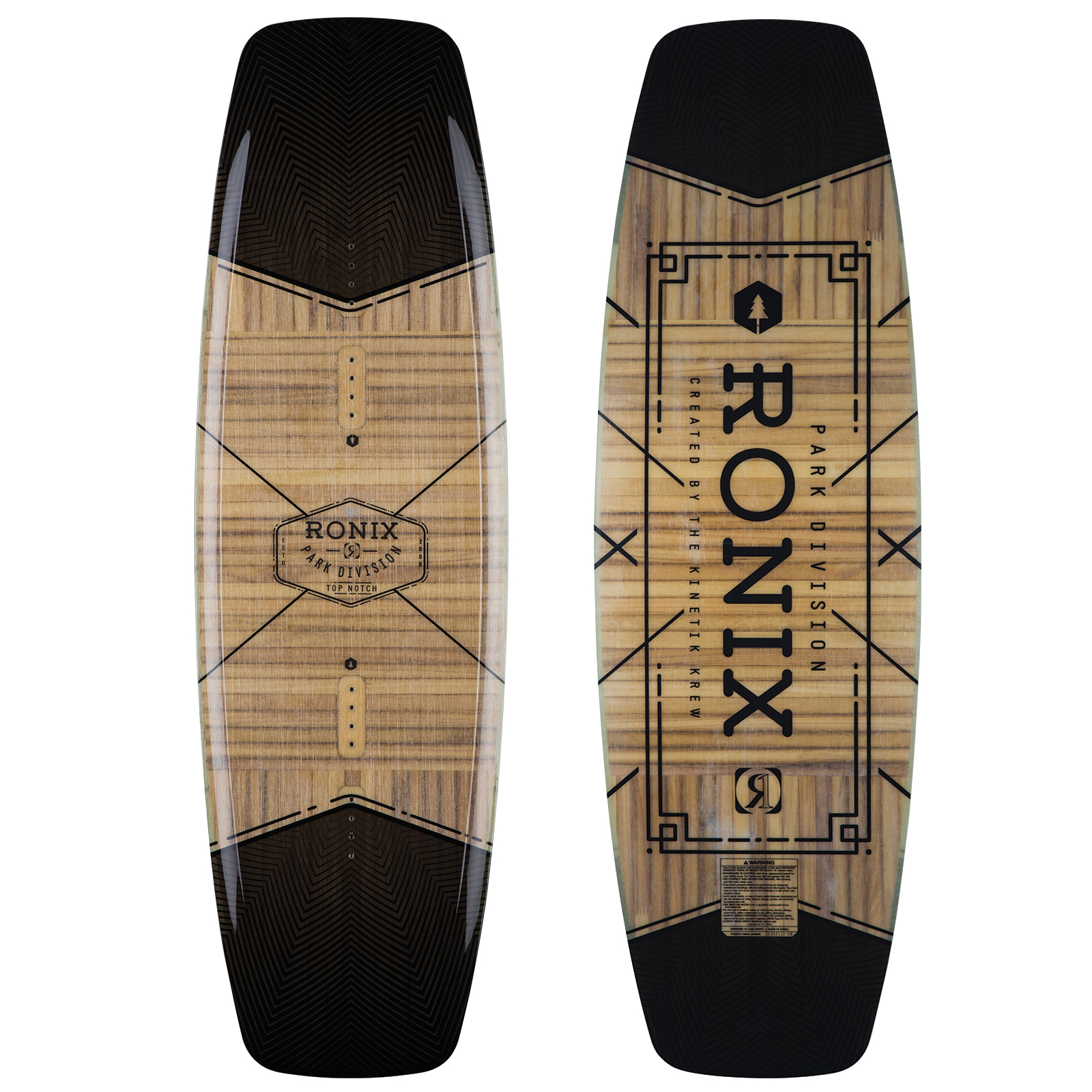 TOP NOTCH NU CORE 2.0 WAKEBOARD RONIX 2018
