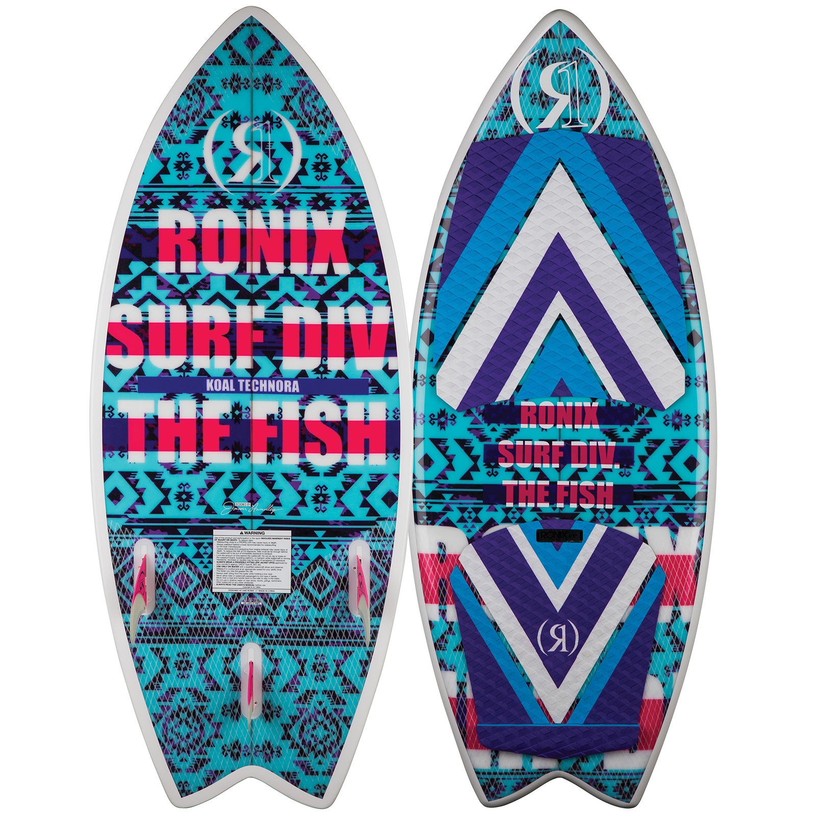 FISH TECHNORA 4.5 WOMEN'S WAKESURFER RONIX 2018