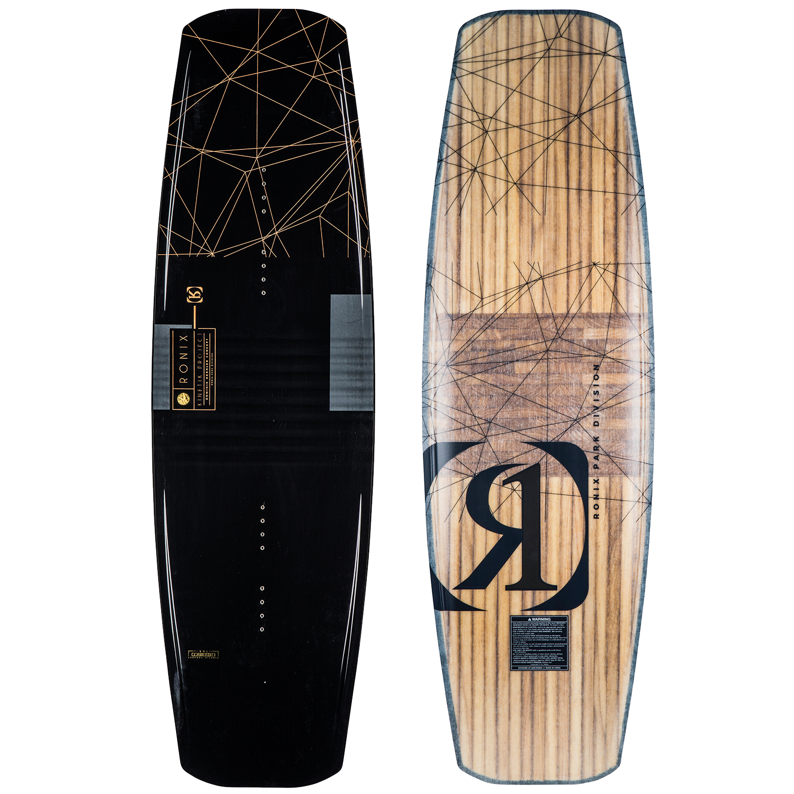 PLACA WAKEBOARD KINETIK PROJECT 3D CORE FLEXBOX 1 WAKEBOARD RONIX 2019