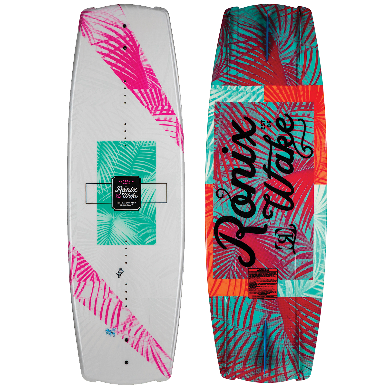 PLACA WAKEBOARD KRUSH SECRET FLEX WAKEBOARD RONIX 2019