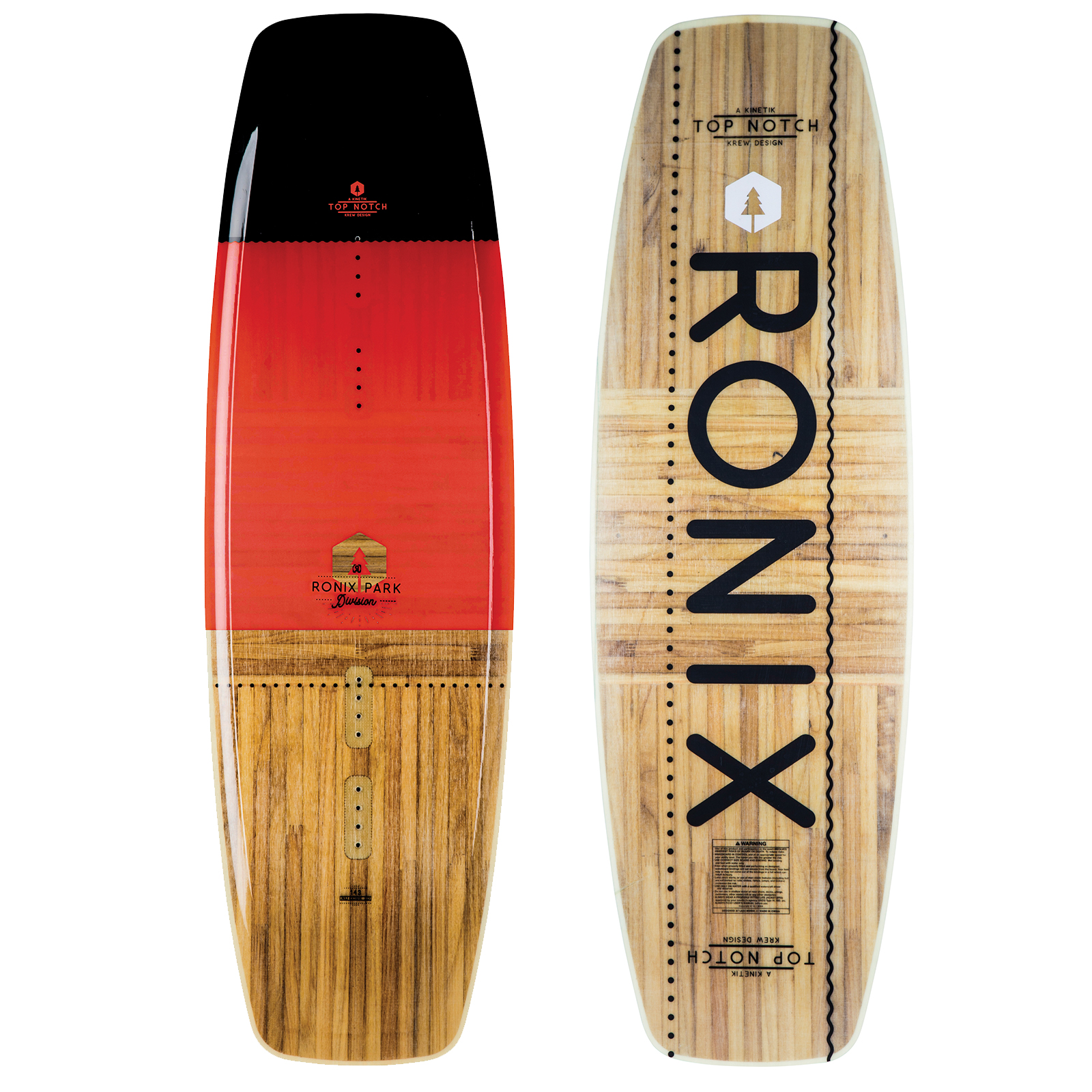 PLACA WAKEBOARD TOP NOTCH NU CORE 2.0  WAKEBOARD RONIX 2019
