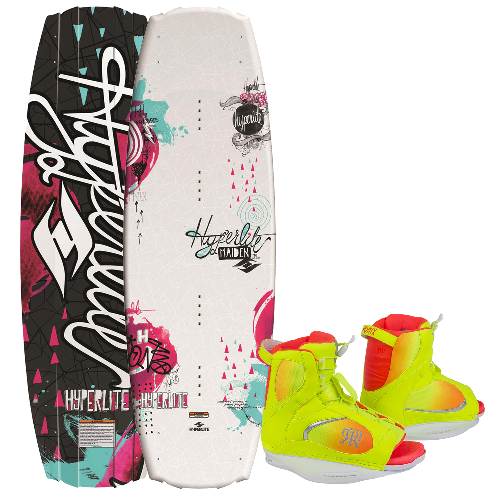 MAIDEN 134 (SINTERED) W/LUXE BOOT 38.5-42.5 PACKAGE HYPERLITE 2015