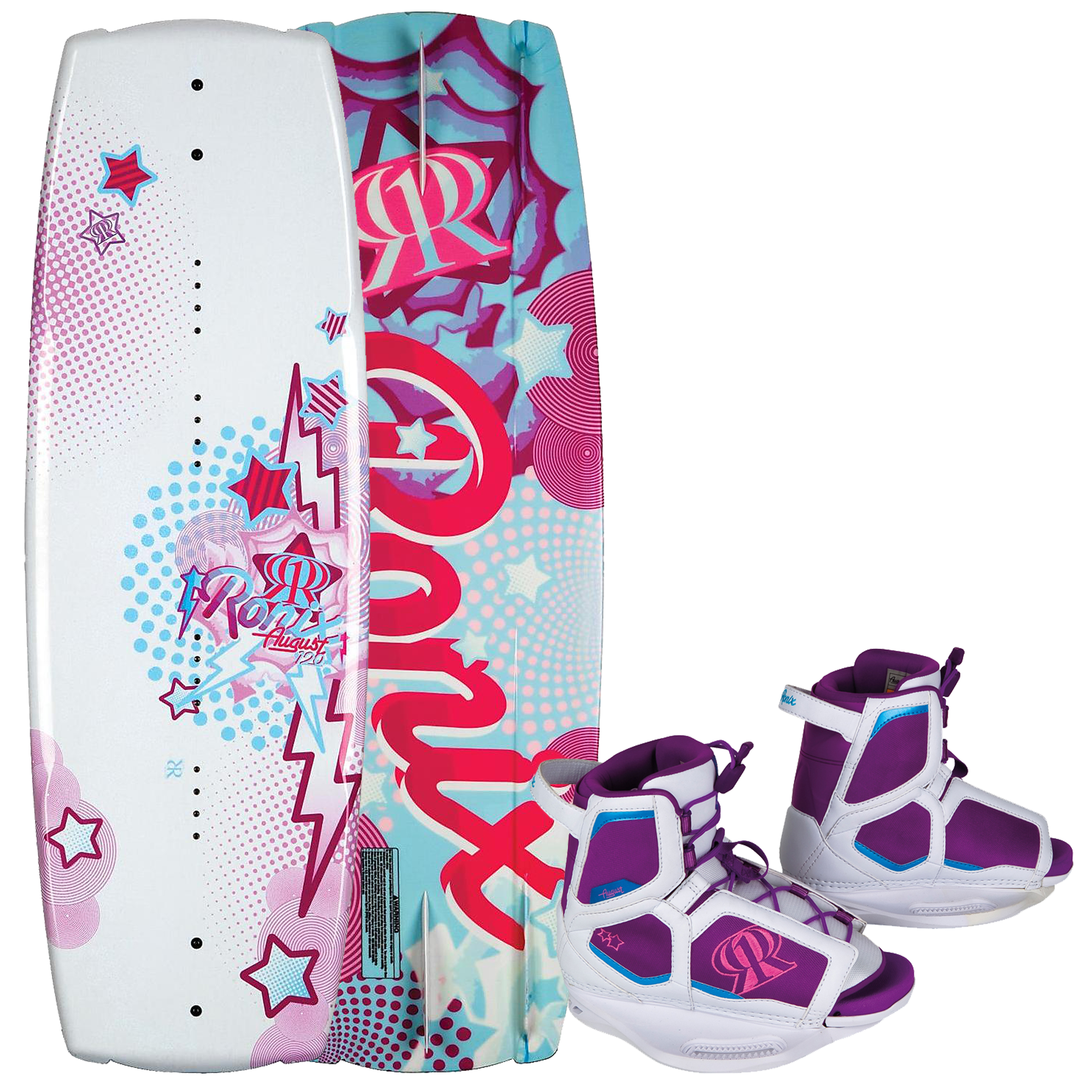 AUGUST 120 W/ AUGUST EU 33-37/US 2-6 PACKAGE RONIX 2012