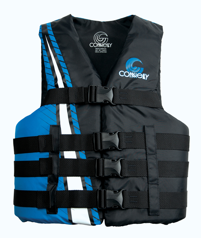 4BELT CE NYLON VEST - BLUE CONNELLY 2018