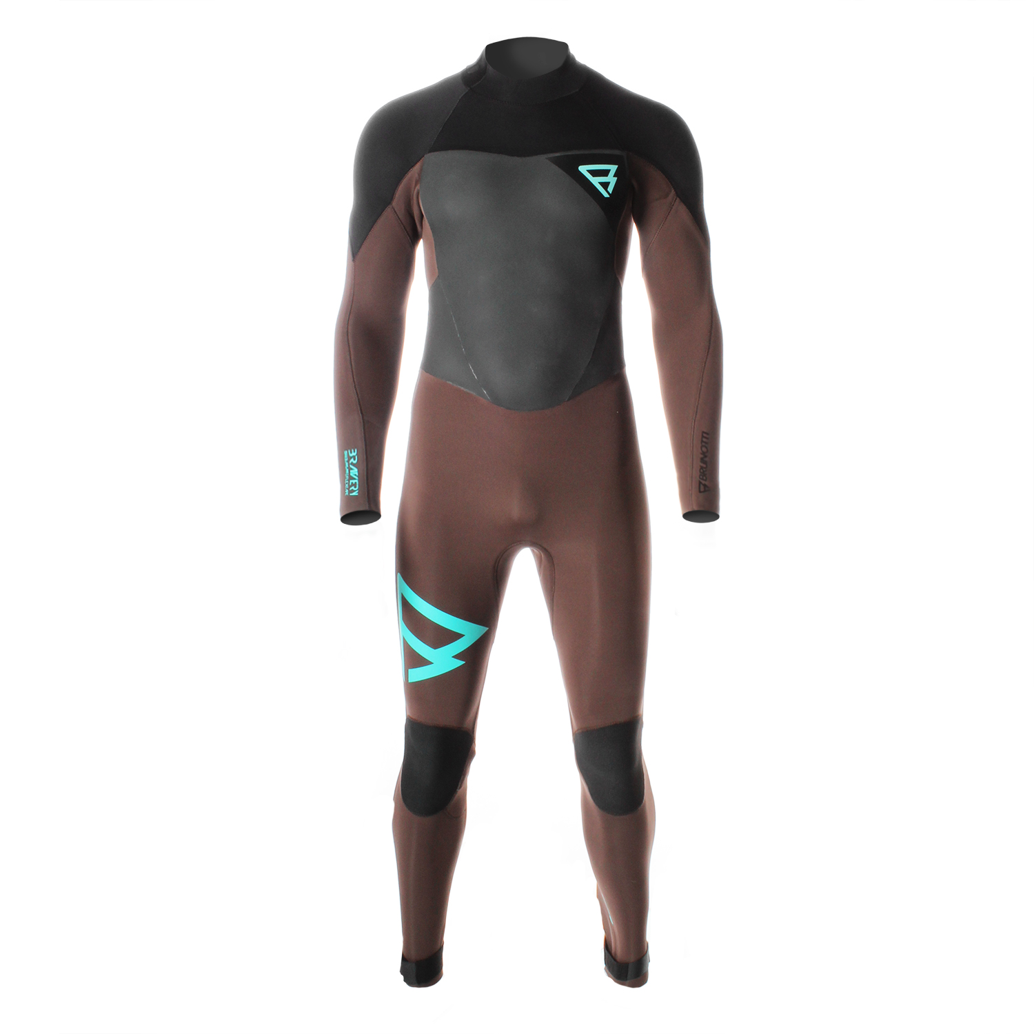BRAVERY 5/3 D/L BZ MEN WETSUIT BROWN BRUNOTTI 2017