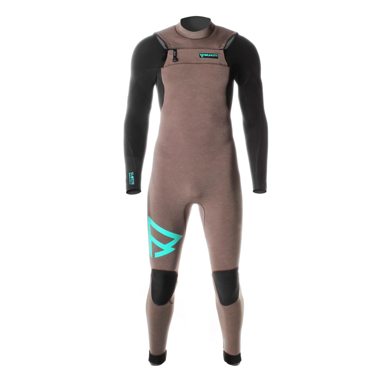 BRAVERY 5/3 D/L FZ MEN WETSUIT BROWN BRUNOTTI 2017