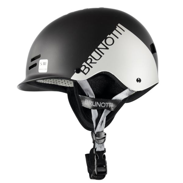 BRAVERY HELMET BLACK GREY BRUNOTTI 2017