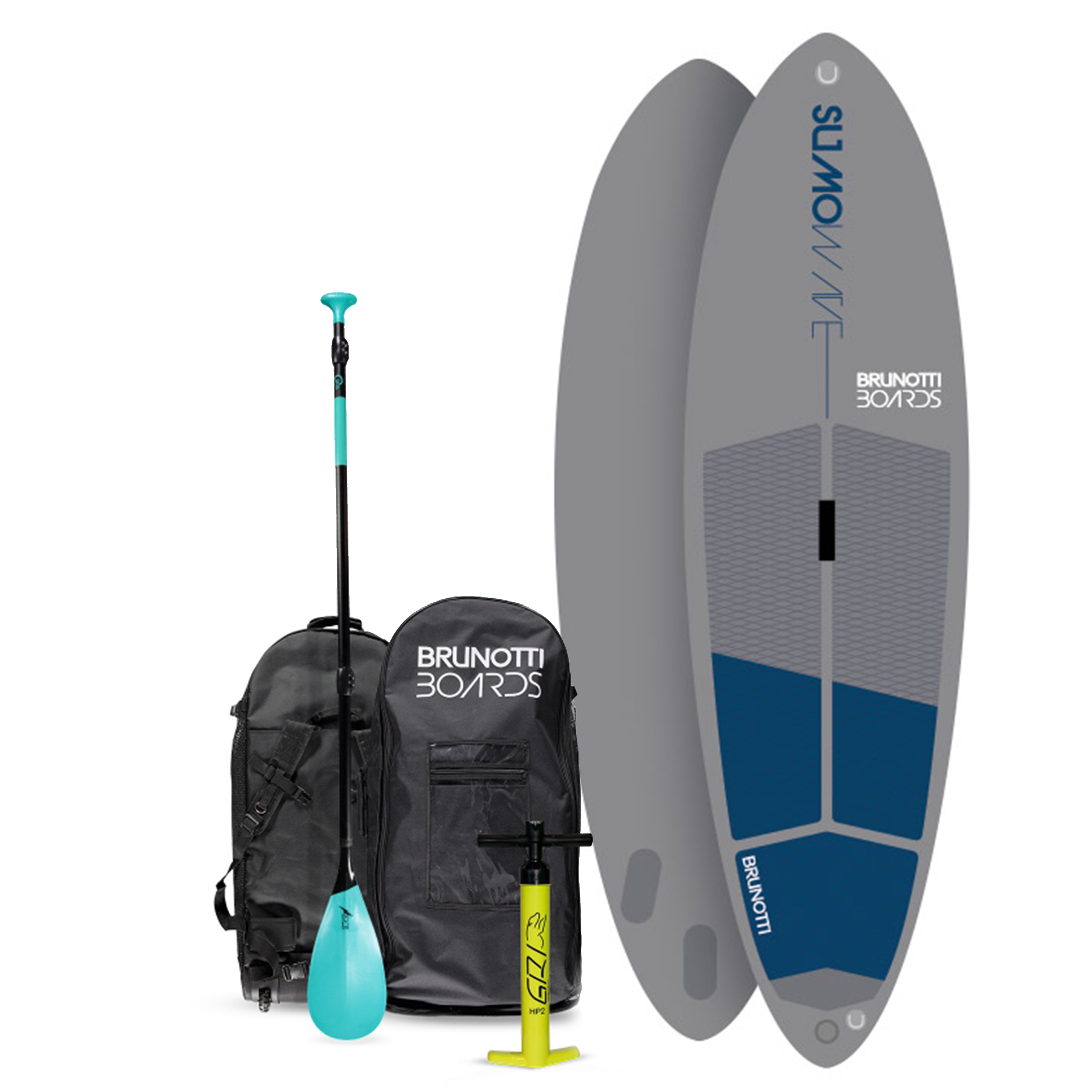 SUMO WAVE INFLATABLE STAND-UP PADDLE BOARD BRUNOTTI 2017